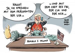 """FBI-Chef Comey-Rauswurf """"hilft Trump sehr"""": US-Präsident entlässt Chef der Behörde, die Verbindungen des Trump-Teams zu Russland untersucht"""