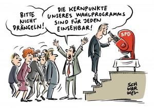 """Wahlprogramm: SPD beschließt Programm """"für mehr Gerechtigkeit"""""""