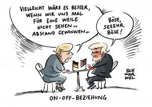 Merkels Bierzeltrede nach G7-Gipfel: Vertrauen in USA schwindet