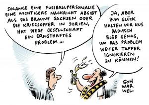 Fußballnews beherrschen Medien: BVB trennt sich von Trainer