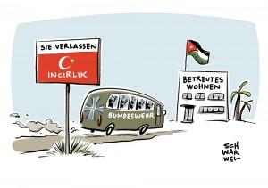 Türkei verweigert Besuchsrecht: Gabriel: Bundeswehr wird Incirlik verlassen müssen