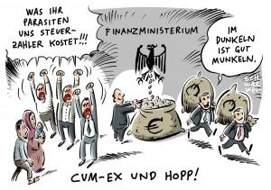 Cum-Ex-Skandal: Banker, Börsenmakler und Anwälte betrügen Staat um 31,8 Milliarden Euro