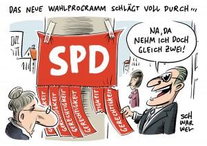 SPD-Wahlkommunikation: Forderung nach mehr sozialer Gerechtigkeit zu abstrakt