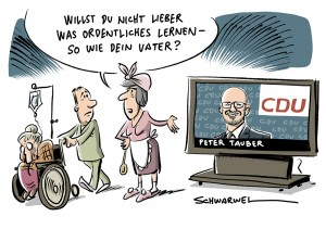 """""""was Ordentliches gelernt"""" contra Minijobs: Peter Tauber (CDU) erntet Shitstorm"""
