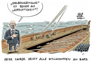 """CDU/CSU im Wahlkampf: """"Vollbeschäftigung"""" ist besser als """"Gerechtigkeit"""""""