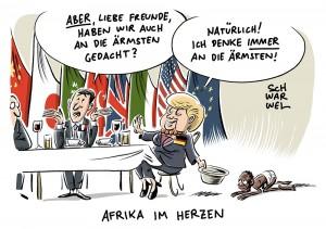 """Afrika bei G20-Gipfel: Für die Ärmsten kein Platz im """"Merkel-Plan"""""""