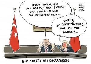 """Angeblicher Terrorverdacht ist """"Missverständnis"""": Türkei zieht Liste deutscher Firmen zurück"""