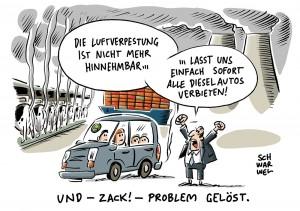 Umwelthilfe gewinnt Prozess: Gericht urteilt pro Diesel-Fahrverbot in Stuttgart