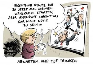 Merkel startet in den Wahlkampf: Kanzlerin lehnt Quote für E-Autos ab und erzürnt SPD