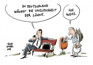 """Einkommensverteilung und Lohnungleichheit: Bundeswirtschaftsministerium beklagt """"Lohnproblem"""""""""""