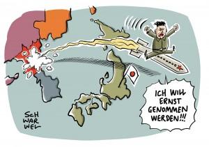 UN-Botschafter schimpft nach eigenem Raketentest über USA: Nordkorea warnt vor starker Explosion