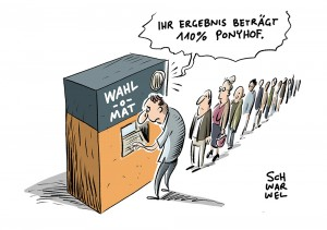 Wahl-O-Mat zur Bundestagswahl: Bundeszentrale für politische Bildung gibt Wahlberatung frei