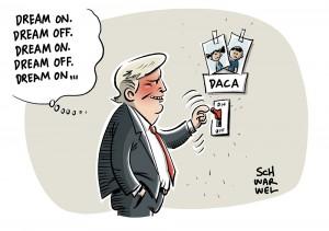 """Trump und das """"Dreamer""""-Gesetz: Deal or no deal?"""
