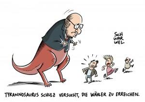 Wahlkampf: Martin Schulz versucht zu spät, die Wähler zu erreichen
