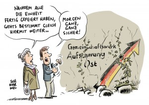 Bundespräsident zur Deutschen Einheit: Neue Mauern aus Entfremdung, Wut und Enttäuschung