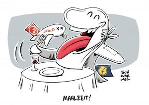 Übernahme nach Insolvenz: Lufthansa und Air Berlin besiegeln Deal