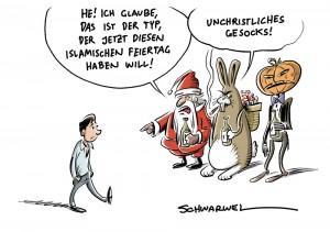 Islam in Deutschland: Feiertagsdebatte geht weiter