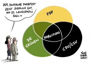 """Beginn der Sondierungsgespräche: CDU-Generalsekretär Tauber befindet Jamaika-Treffen mit FDP als """"konstruktiv"""""""
