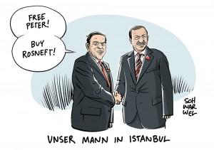 Fall Peter Steudtner: Altkanzler Schröder vermittelte bei Erdogan