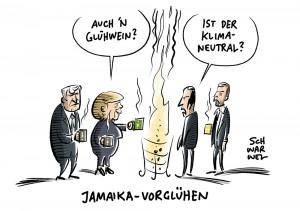 Jamaika-Sondierungen: Klimaschutz wollen alle, konkrete Maßnahmen nicht