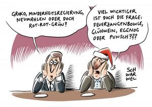 Rot-rot-grünes Thesenpapier: Während Union und SPD um GroKo ringen: Politiker wittern Chance für linke Ideen