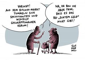 Hype von Kryptowährung: Finanzaufsicht warnt vor Totalverlust bei Bitcoin