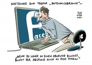 Online-Netzwerk sammelt Nutzerdaten: Kartellamt wirft Facebook Datenmissbrauch vor