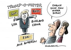 """Neue """"America First""""-US-Sicherheitsstrategie: Trump geht China und Russland an"""