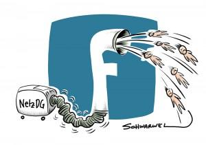 Mit NetzDG gegen strafbare Inhalte auf Twitter, Facebook und Co.: Staatssekretär Kelber schiebt Schuld für Fehlreaktionen auf Unternehmen