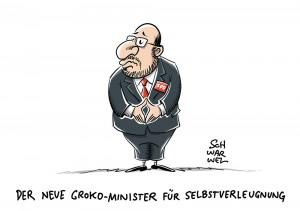 GroKo Martin Schulz SPD Kabinett Minister
