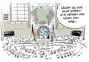 Geheimdienst-Kontrollgremium: AfD-Mann Reusch in zweitem Anlauf gewählt