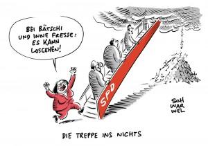Schulz-Nachfolge bei SPD: Widerstand gegen schnelle Nahles-Lösung