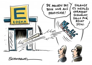Bestellstopp: Edeka verbannt Nestlé-Produkte