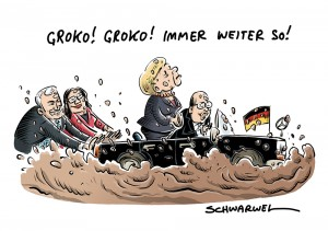 Nach GroKo-Ja der SPD: Merkel will schnell wieder regieren