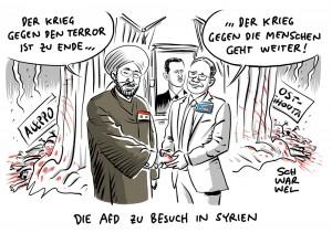 Syrien-Reise: AfD-Politiker treffen Assads Großmufti