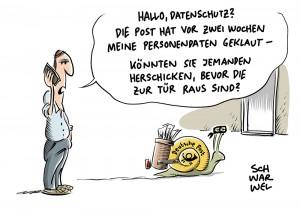 Datenschutz: Deutsche Post weist Kritik an Datenweitergabe an CDU und FDP zurück