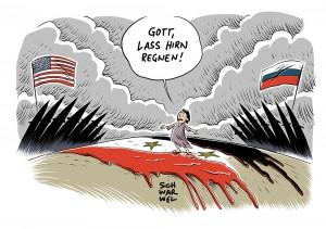 Drohende Eskalation im Krieg in Syrien: Trump kündigt Raketenangriff an