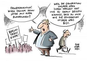 Berlin trägt Kippa: Solidaritäts-Aktion am Mittwoch, auch Potsdam ruft auf