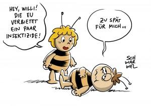 Abstimmung der EU-Staaten: Verbot für bienenschädliche Insektizide