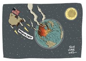 """Gekündigtes Atomabkommen mit Iran:  Trumps """"America first"""" heißt: """"Amerika allein"""""""