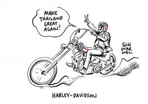 Produktion wird verlagert: Trump enttäuscht von Harley-Davidson