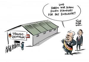 Grenze zu Österreich: Flüchtlingspolitik – CSU sieht Transitzentren nicht als Gefängnisse
