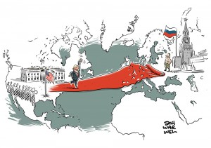 Trotz anhaltender Kritik am Gipfel in Helsinki: US-Präsident Trump lädt Putin in die USA ein