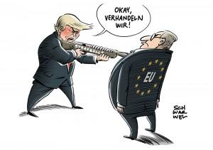 """G20-Finanzminister zum Zollstreit: """"Wir weigern uns, mit der Pistole auf der Brust zu verhandeln"""