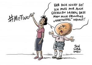 Hashtag #MeTwo: Umgang mit Rassismus