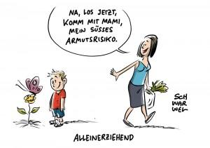 1,5 Millionen Alleinerziehende in Deutschland: Jeder dritte Haushalt armutsgefährdet