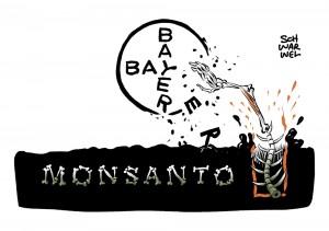 Nach Krebsurteil Börsenwert in Milliardenhöhe vernichtet: Monsanto-Schock für Bayer