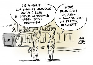 Gewaltexzess in Connewitz: Prozessmarathon wegen rechter Krawalle in Leipzig hat begonnen