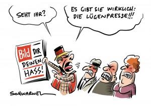 """""""Entfesselter Ausländerhass, linke Chaoten, überforderte Polizei"""": Bild-Zeitung schürt in Chemnitz-Berichtren weiteren Hass"""