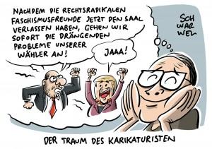 """""""Mittel des Faschismus"""": Schulz und Kahrs positionieren sich gegen Gauland und die AfD"""